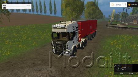 Scania Agro Truck v2.0