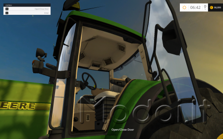 John Deere 8400 with whell efect