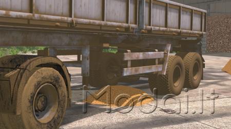 MAZ semitrailer