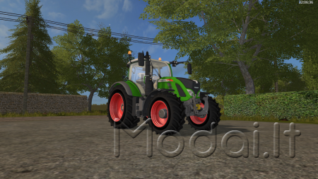 Fendt 700 with Mitas Pneumatic Beta