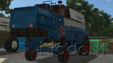 Combine Fortschritt 516 v3 final pack for Fs17