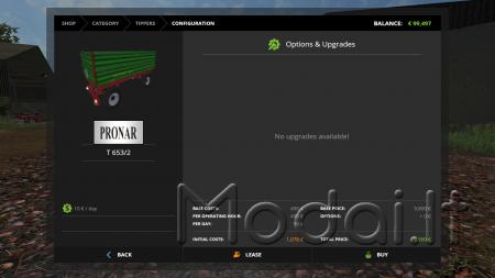 Trailer Pronar T653/2 v1.0 for FS 17