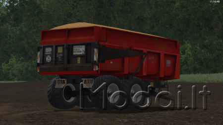 Trailer Demarest 13t v1.0 for FS 17