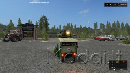 Amazone Profihopper 4WDi