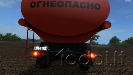 Kamaz 43118 Tanker