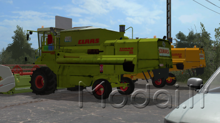 CLAAS DOMINATOR 105 PACK