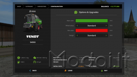FENDT 9490 X SERIES V3