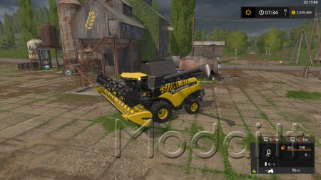 FS17 NEW HOLLAND CR7.90 PACK