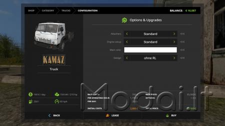 KAMAZ PACK V1.0