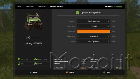 MERCEDES UNIMOG U1200 / U1600 V2 FULL EDITION