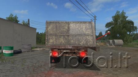 EB7 DUMP TRUCK AND OVERLOADER
