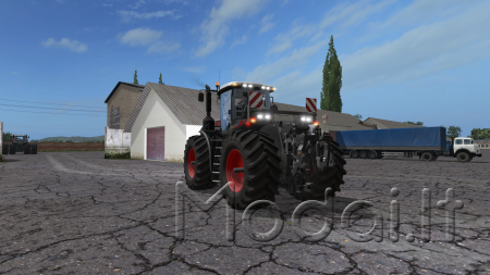 FENDT VARIO T FL PACK BLACK / GREEN v3.0