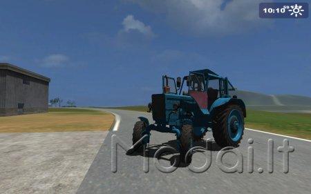 mtz 82 blue old