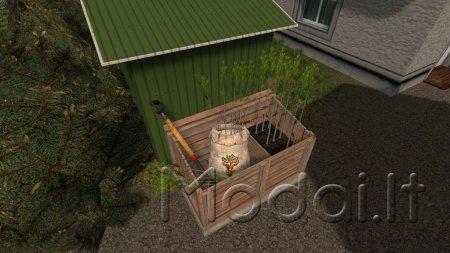 Hand Plant Saplings