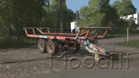 T088 BALE TRAILER (AUTOLOAD)