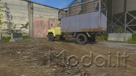 ГАЗ 52 желтый v1.0