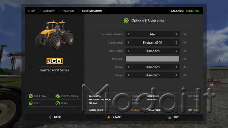 JCB Fastrac 4000 Serie Full Pack v1.0