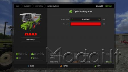 CLAAS LEXION 530 PACK V1.0.0.0 FINAL