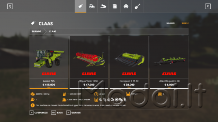 CLAAS LEXION 795 MONSTER LIMITED EDITION V2.0
