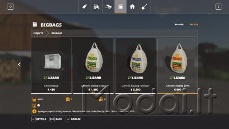 BAG'N'LIFTER PACK V1