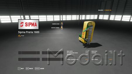 SIPMA PRERIA 1600