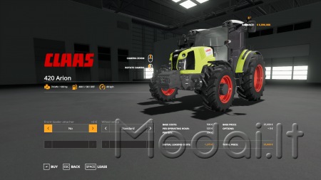 CLAAS ARION 420 V1.19