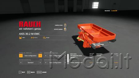 RAUCH AXIS 30.2 M-EMC V1.0