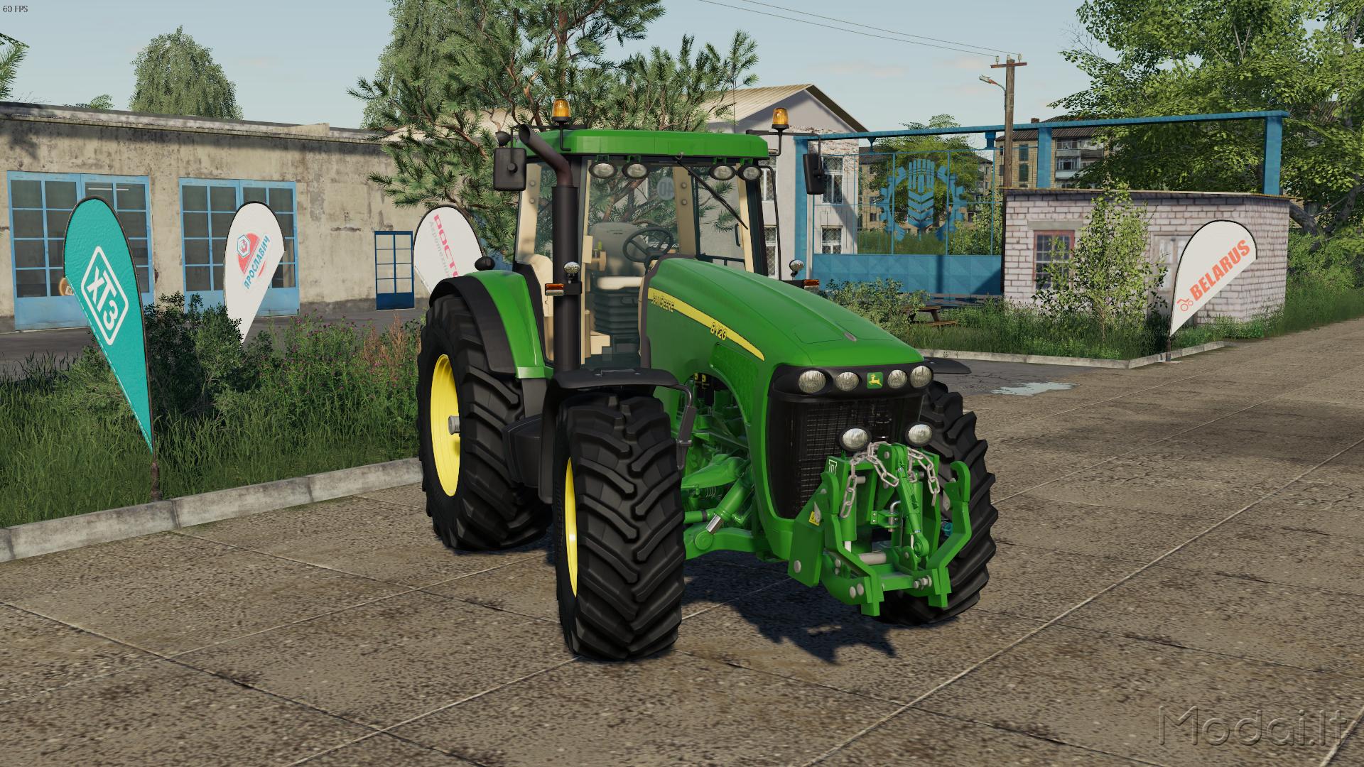 JOHN DEERE 8020 SERIES V1 0 » Modai lt - Farming simulator