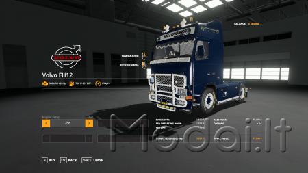 Volvo FH fs19