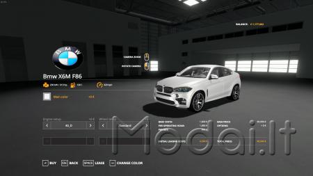 BMW X6M 2016 FS19 V1.0