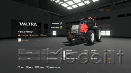 Valtra HiTech 8050/8950 V 1.1