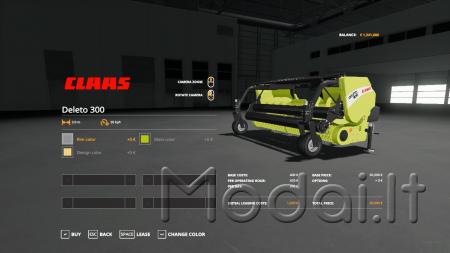 Claas Jaguar 850 v1.0.0.0