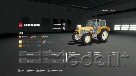 Ursus 904 v1.0.0.0