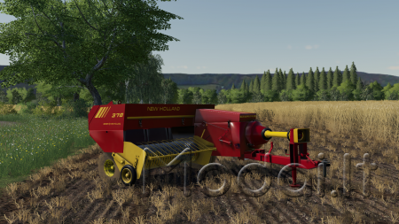 NEW HOLLAND 378 BALER
