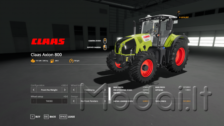 CLAAS AXION 800-840 V0.9.9