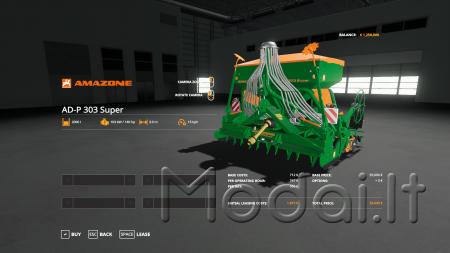 AMAZONE AD-P 303 SUPER