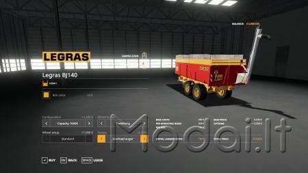 LEGRAS BJ140 V1.0.0.0