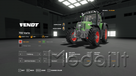 FENDT 820 TMS BY 6195RPOWER OFFICIAL