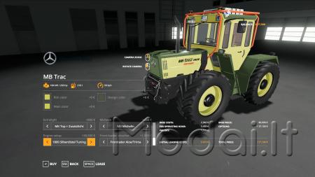 MB TRAC PACK 1300 - 1800 V1.6.0.0